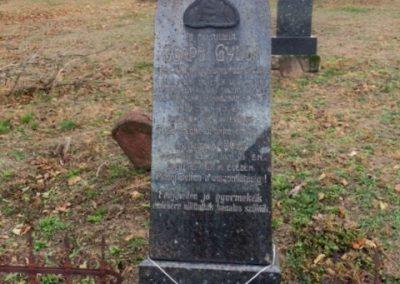 Alsóörs régi temető - I. világháborús katonasírok 2016.11.06. küldő-Csiszár Lehel