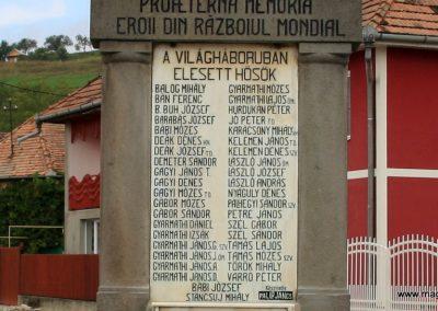 Alsóboldogfalva felújított I. világháborús emlékmű 2014.08.22. küldő-Pálffy Tamás Szabolcs (3)