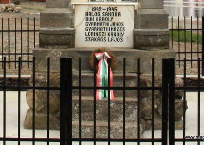 Alsóboldogfalva felújított I. világháborús emlékmű 2014.08.22. küldő-Pálffy Tamás Szabolcs (4)