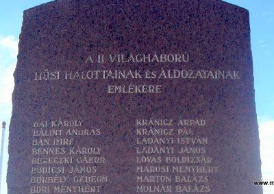 Alsónémedi II.vh emlékmű-2008.10.08. küldő-Huszár Peti (1)