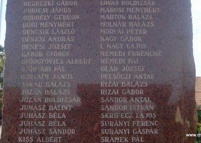 Alsónémedi II.vh emlékmű-2008.10.08. küldő-Huszár Peti (2)