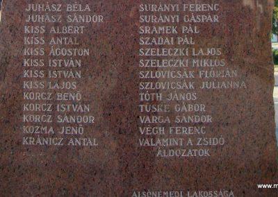 Alsónémedi II.vh emlékmű-2008.10.08. küldő-Huszár Peti (3)