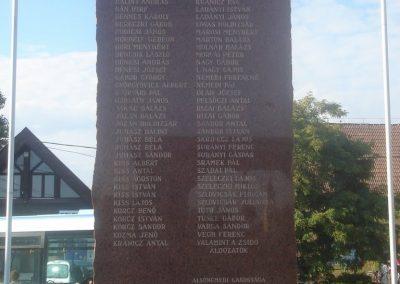 Alsónémedi II.vh emlékmű-2008.10.08. küldő-Huszár Peti