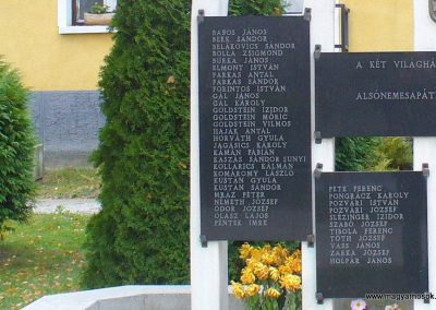 Alsónemesapáti világháborús emlékmű 2013.11.02. küldő-HunMi (3)