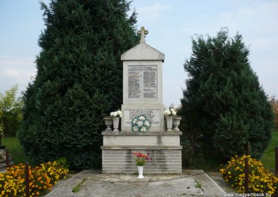 Alsórajk II.vh emlékmű 2009.09.14. küldő-Sümec