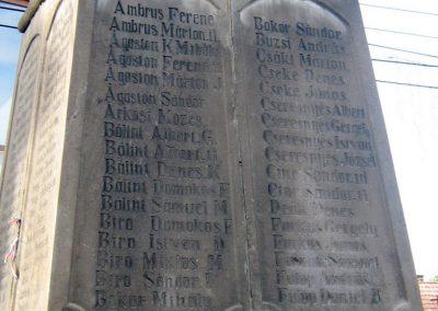 Alsósófalva világháborús emlékmű 2011.09.20. küldő-Mónika39 (1)