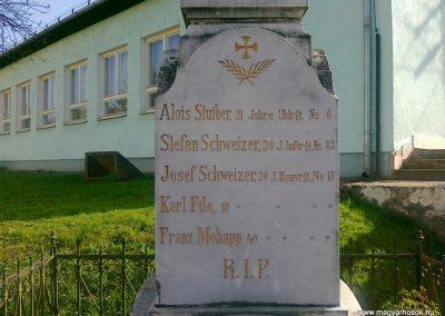 Alsószölnök I.vh emlékmű 2011.04.10. küldő-Csiszár Lehel (2)