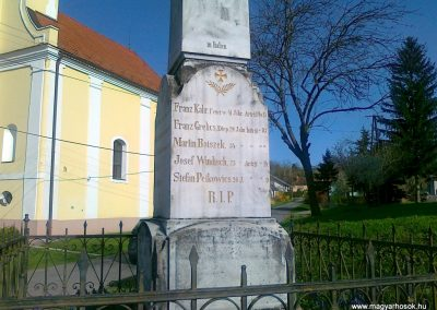 Alsószölnök I.vh emlékmű 2011.04.10. küldő-Csiszár Lehel (3)