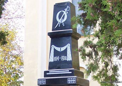 Alsószeli I.vh emlékmű felújítás után 2008.10.19. küldő-Szabados László (1)