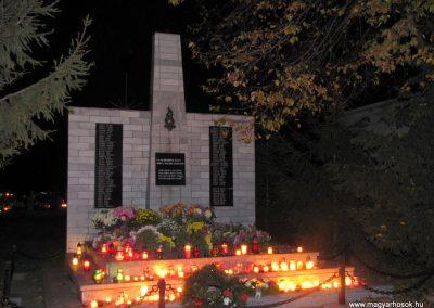 Alsószeli II.vh emlékmű 2009.11.01. küldő-Szabados László
