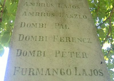 Alsószuha I.világháborús emlékmű 2012.06.21. küldő-Pataki Tamás (4)