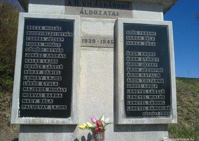 Alsószuha II.világháborús emlékmű 2012.04.09. küldő-Pataki Tamás (1)