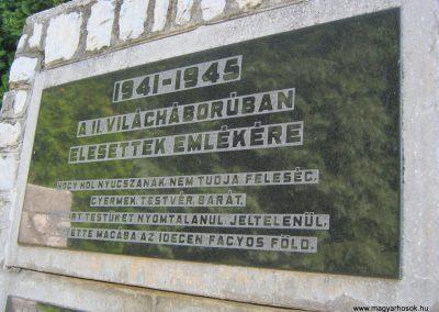 Alsózsolca köztemető II. világháborús emlékmű 2015.08.09. küldő-Emese (2)