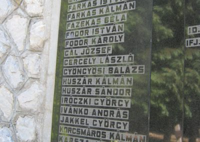 Alsózsolca köztemető II. világháborús emlékmű 2015.08.09. küldő-Emese (4)
