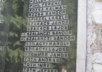 Alsózsolca köztemető II. világháborús emlékmű 2015.08.09. küldő-Emese (5)