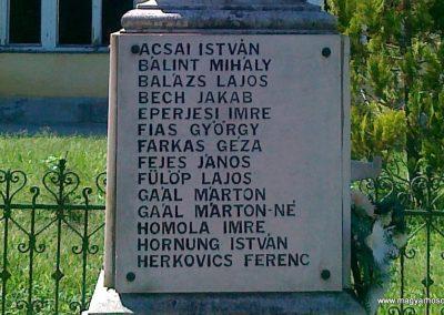 Andocs világháborús emlékmű 2010.08.26. küldő-Csiszár Lehel (8)
