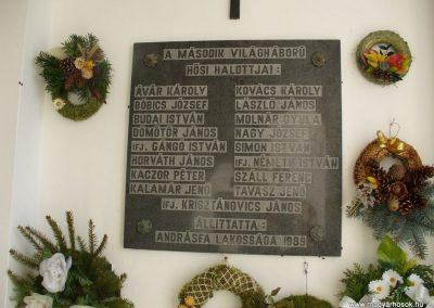 Andrásfa II.vh emléktábla 2009.11.16. küldő-HunMi