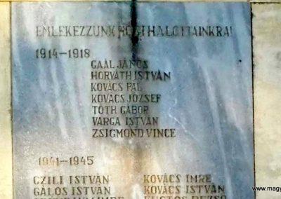 Apácatorna világháborús emlékmű 2014.10.07. küldő-Méri (2)