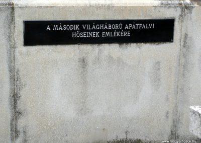 Apátfalva II. világháborús emlékmű 2012.07.13. küldő-Sümec (6)