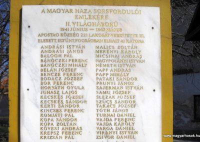 Apostag II.vh emlékmű 2012.03.17. küldő-baloghzoli (1)