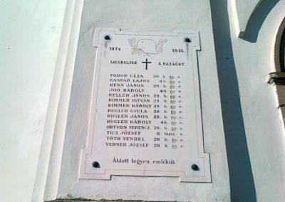 Aszófő világháborús emléktáblák 2010.10.27. küldő-Csiszár Lehel (1)