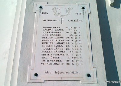 Aszófő világháborús emléktáblák 2010.10.27. küldő-Csiszár Lehel (2)
