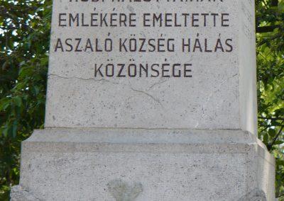 Aszaló I.vh emlékmű 2009.05.20.küldő-Gombóc Arthur (4)