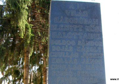 Attala II.vh. emlékmű 2009.04.04. küldő-kalyhas (2)