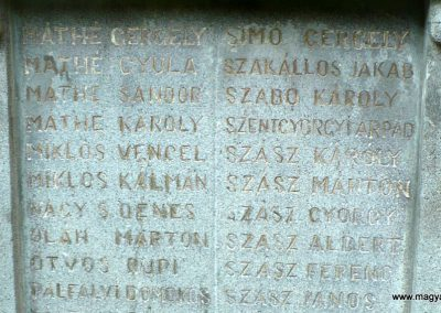 Atyha I. világháborús emlékmű 2014.07.20. küldő-Gombóc Arthur (4)