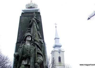 Bácsbokod I. világháborús emlékmű 2007.12.08. küldő-Markó Péter (1)