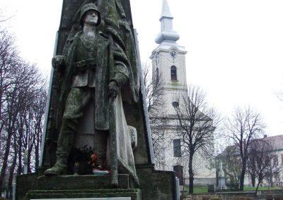 Bácsbokod I. világháborús emlékmű 2007.12.08. küldő-Markó Péter