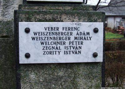 Bácsbokod I. világháborús emlékmű 2007.12.08. küldő-Markó Péter (8)