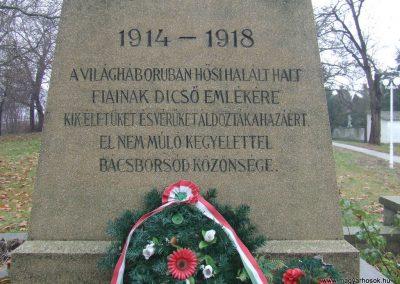 Bácsborsód világháborús emlékmű 2007.12.08. küldő-Markó Péter (2)