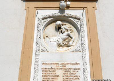 Bágyogszovát I. világháborús emléktábla 2012.08.26. küldő-Baloghzoli (2)