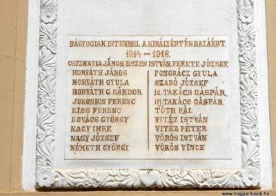 Bágyogszovát I. világháborús emléktábla 2012.08.26. küldő-Baloghzoli (3)