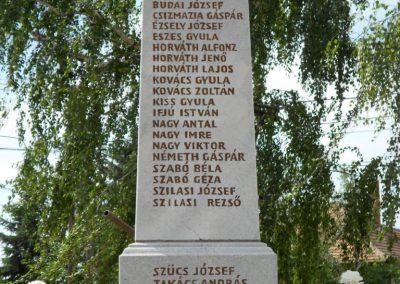 Bágyogszovát II. világháborús emlékmű 2012.08.26. küldő-Baloghzoli (1)