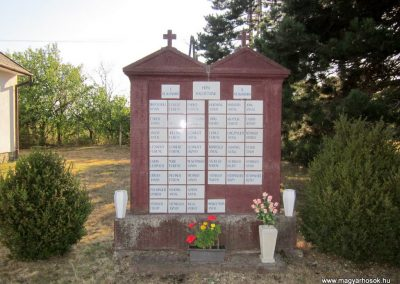 Bánd világháborús emlékmű 2013.08.17. küldő-kalyhas (2)