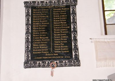 Bánffyhunyad II.vh emléktábla 2011.07.04. küldő-Erika67