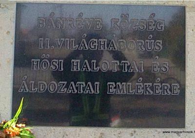 Bánréve hősi emlékmű 2012.03.20. küldő-Pataki Tamás (5)