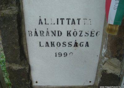 Báránd világháborús emlékmű 2009.05.16. küldő-Huszár Peti (5)