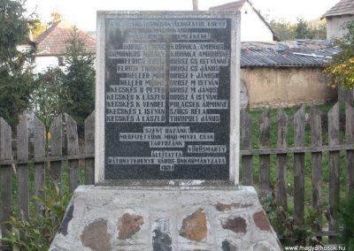 Bátonyterenye -Maconka II.vh emlékmű 2008.10.17. küldő-kalyhas (1)