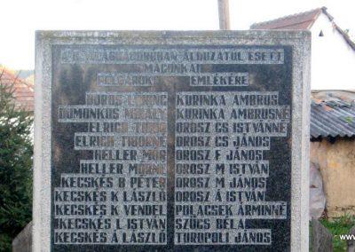Bátonyterenye -Maconka II.vh emlékmű 2008.10.17. küldő-kalyhas (2)