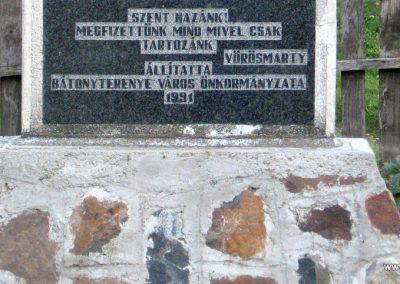 Bátonyterenye -Maconka II.vh emlékmű 2008.10.17. küldő-kalyhas (3)