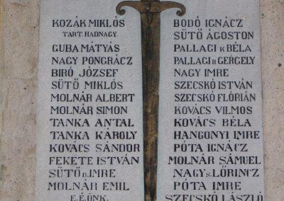 Bátor I.vh emléktábla 2007.12.04. Küldő-Kályhás (1)