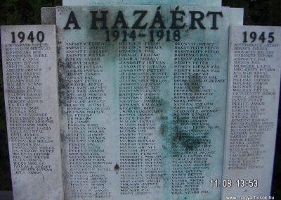 Bátya világháborús emlékmű 2006.11.08. Küldő-Markó Péter (3)