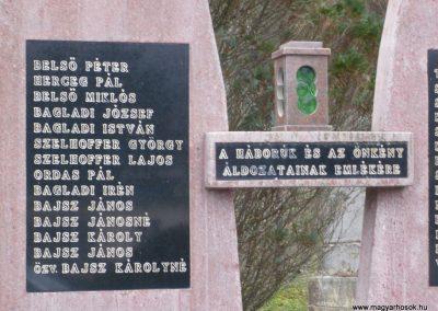 Bázakerettye világháborús emlékmű 2009.01.07.küldő-Sümec (2)