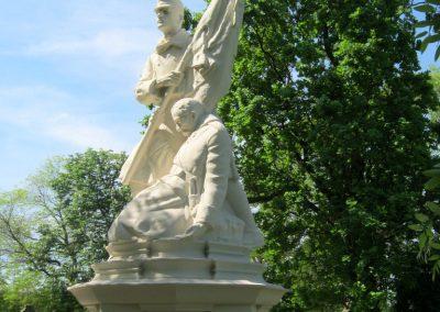 Békéscsaba Hősök temetője I. világháborús emlékmű és katonasírok 2015.05.09. küldő-Emese (11)