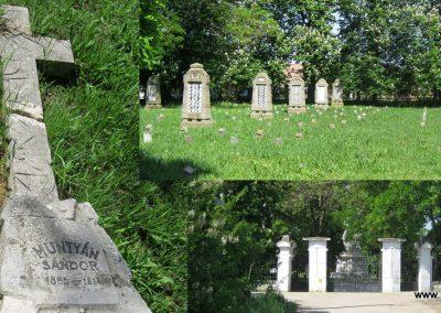 Békéscsaba Hősök temetője I. világháborús emlékmű és katonasírok 2015.05.09. küldő-Emese (16)