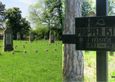 Békéscsaba Hősök temetője I. világháborús emlékmű és katonasírok 2015.05.09. küldő-Emese (17)