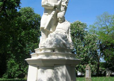 Békéscsaba Hősök temetője I. világháborús emlékmű és katonasírok 2015.05.09. küldő-Emese (2)